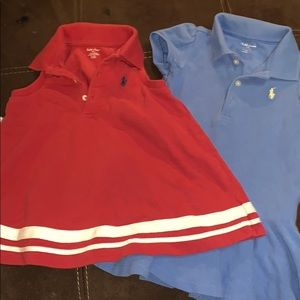 2 polo Ralph Lauren dresses